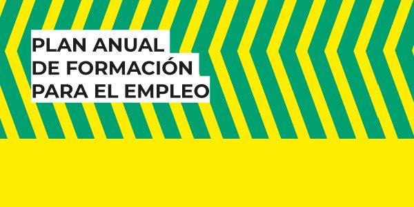 Plan anual de formación para el empleo